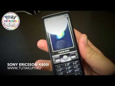 Видео Обзор на Sony Ericsson k800i