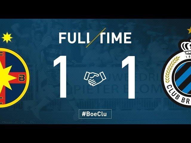 FCSB - CLUB BRUGGE   Matchverslag   Oefenwedstrijd    2018-2019