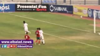 منتخب الشباب ينهى الشوط الأول بـ'ودية' المغرب بثنائية..فيديو