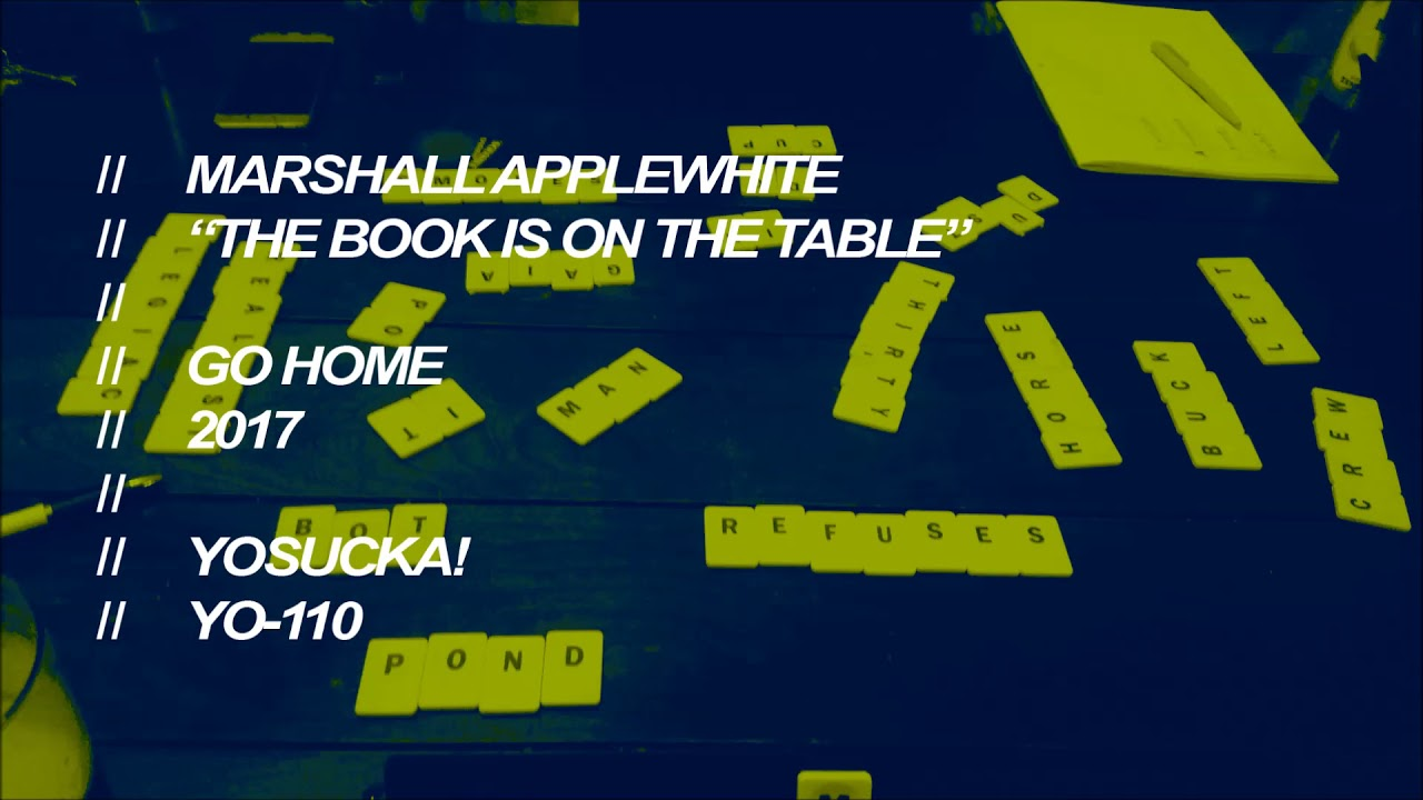 Marshall Applewhite The Book Is On The Table Youtube