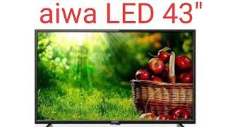 """aiwa 43"""" Smart LED, Frameless IPS LED..."""