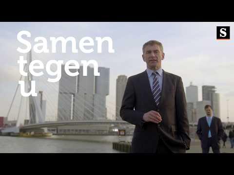Partij tegen de Burger: 'Rotterdam moet de problemen weer echt gaan voelen'