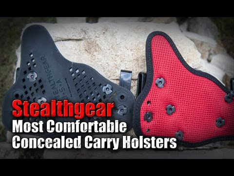 Most Comfortable Concealed Carry IWB Holster? / Stealthgear