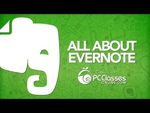 Evernote Tutorial 2015 LIVE
