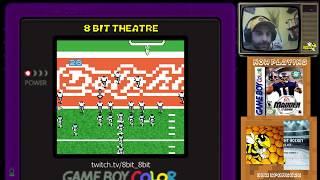 8bit Theatre - NFL Madden 2002 : Tampa Bay vs Miami - GBC : www.TheBuzzRocks.ca