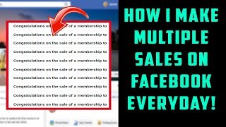 How To Make Sales and Recruit On Facebook (10K PER MONTH BLUEPRINT)