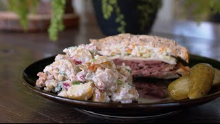 Potato Salad With Bacon And Egg