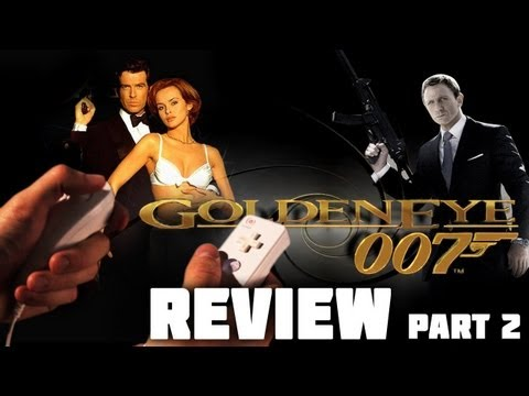 GoldenEye 007 Retrospective Review Part 2 (Wii)