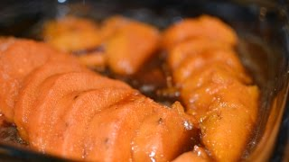 Moms How to make the Best Candied/Candy Yams Recipe, easy soul food style, aka sweet potatoes