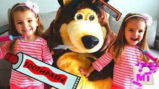 Наша Новая НЯНЯ  и Утренняя Рутина Скетчи для детей / Мэджик Твинс