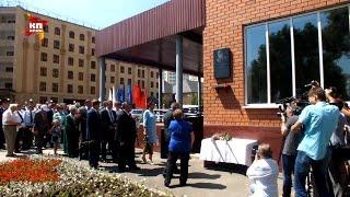 В Оренбурге открыли мемориальную доску на улице Александра Прохоренко