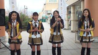2015年04月05日 echa*kena(エチャケナ) 「加賀温泉郷おもてなし祭り」(石川県・加賀温泉駅前広場)