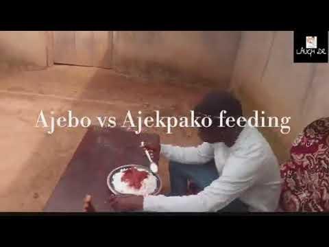 Download Ajebo vs Ajekpako feeding