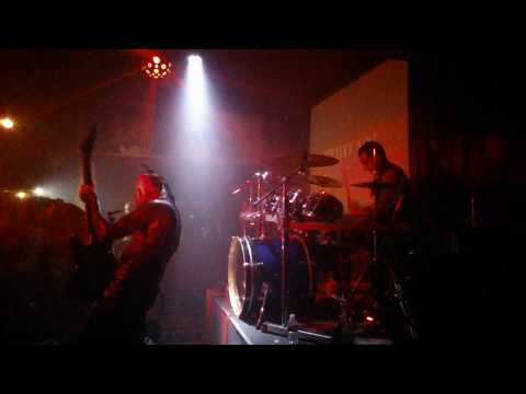 Psyclon Nine Live at Klub Terminal at the Stardust, Downey CA 2/24/18 - side stage view