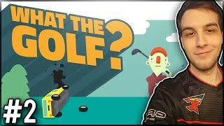 MARIO, PIŁA I KOSMOS! - What The Golf? #2
