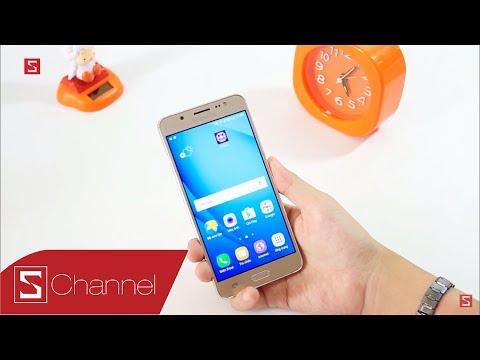 Schannel - Trên tay Galaxy J5 2016 đầu tiên tại Việt Nam: Nâng cấp toàn diện, khung viền kim loại