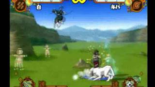 Accel 2 Haku vs. Shikamaru, Kiba & Yamato