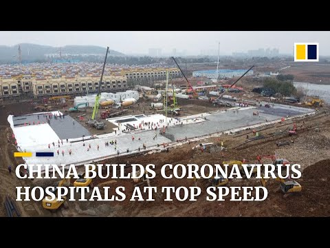 Coronavirus: how China builds two hospitals at top speed at the heart of the virus outbreak
