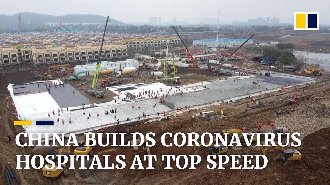 Coronavirus: how China builds two hospitals at top speed at the ...