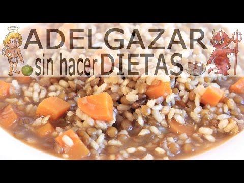 LENTEJAS CON ARROZ INTEGRAL # ADELGAZAR SIN HACER DIETAS