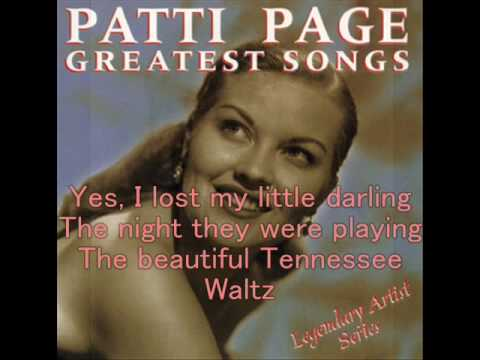 classical-pops-in-english--1--:patti-page,-tennessee-waltz,-1950