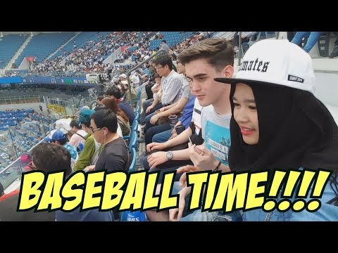 PERTAMA KALI NONTON BASEBALL DI KOREA?! - WATCHING SAMSUNG LIONS BASEBALL GAME! #15 Daegu-Vlog