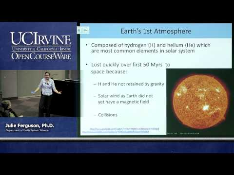 ESS 5. Lec 01. The Atmosphere: Composition and Evolution of the Atmosphere