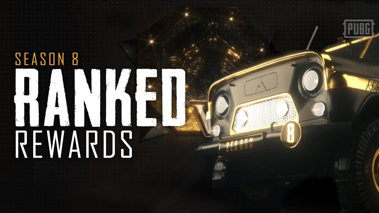Season 8 Ranked Rewards | PUBG
