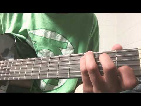 How To Play Motorcycle Drive By By Third Eye Blind On Guitar