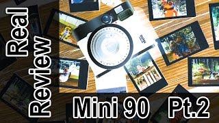 Shooting Modes of Fujifilm Mini 90 Instac