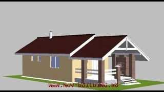 3D видео проект дома - парилка площадью 32 м2(, 2012-12-16T10:40:39.000Z)