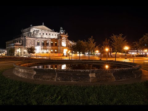Most stunning city in Germany: Dresden 4K