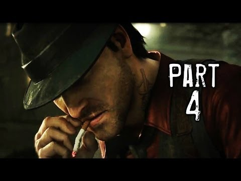 Murdered Soul Suspect Gameplay Walkthrough Part 4 - Police Station (PS4)