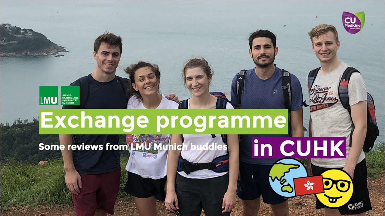 CUHK-LMU Student Exchange Programme 2019
