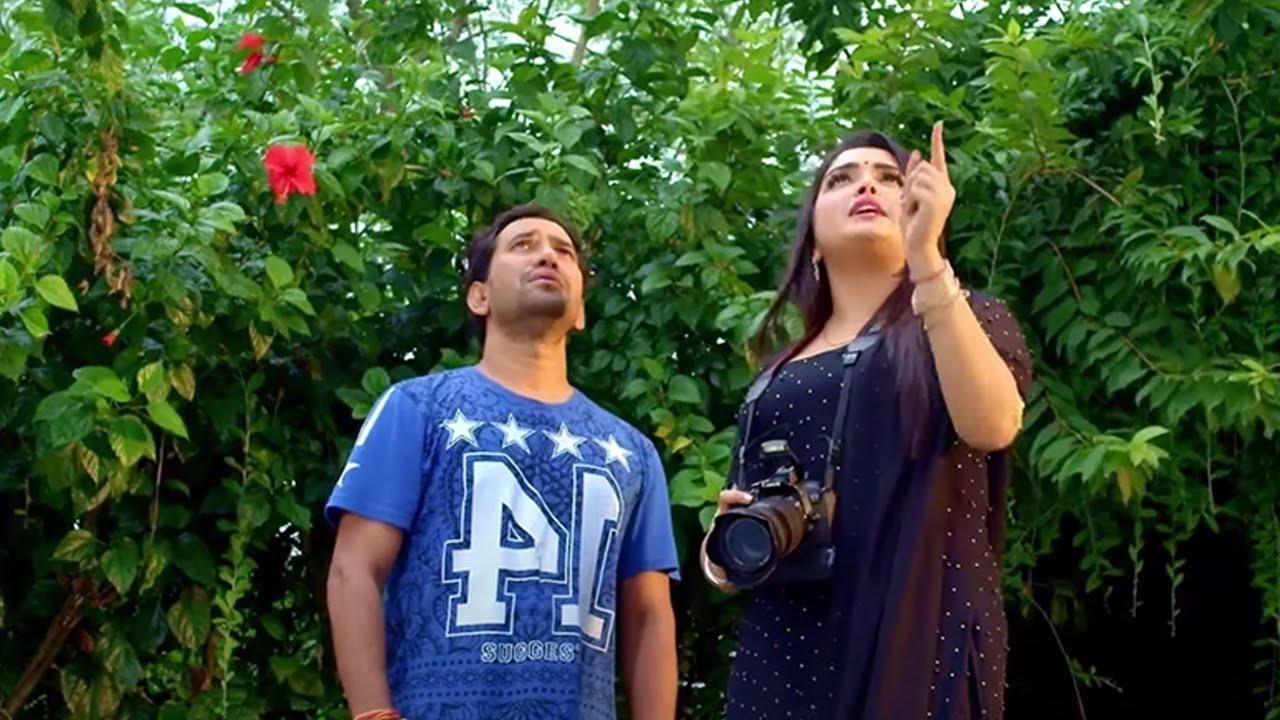 Nirahua Chalal London Bhojpuri Film Scene #Amrapali Dubey Nirahua | wwr