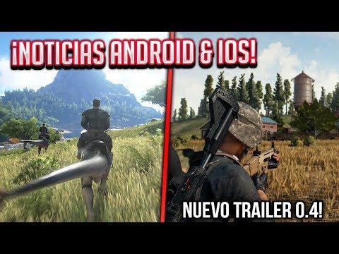 PUBG 0.4 Nuevo TRAILER, Ark Android ¿Registro Fortnite? y GTA 5 noticia | NOTICIAS ANDROID & iOS