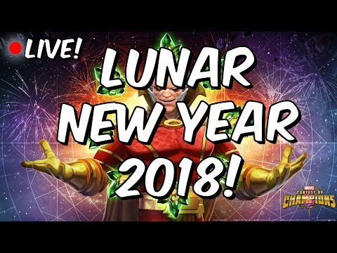 Lunar New Year 2018! - First Look - Marvel Contest Of Champions