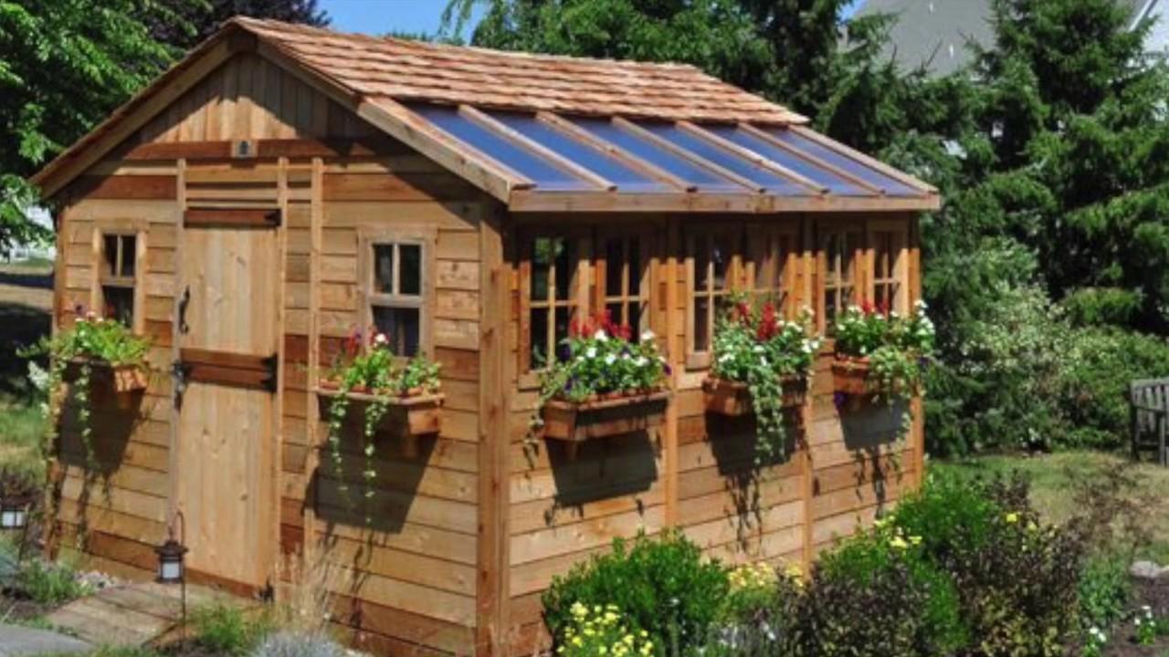 Cedar Shed Kits, Pergolas, Gazebos, Playhouses and more - Outdoor Living  Today
