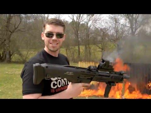 DP-12 Double Barreled Pump Shotgun