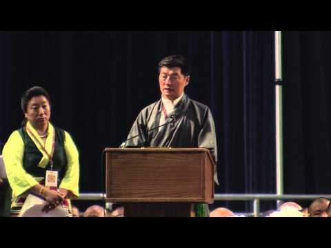 Dr. Lobsang Sangay, Sikyong of the Central Tibetan Administration