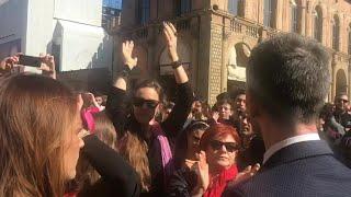 Bologna, 8 marzo: contestata la leghista Borgonzoni in piazza
