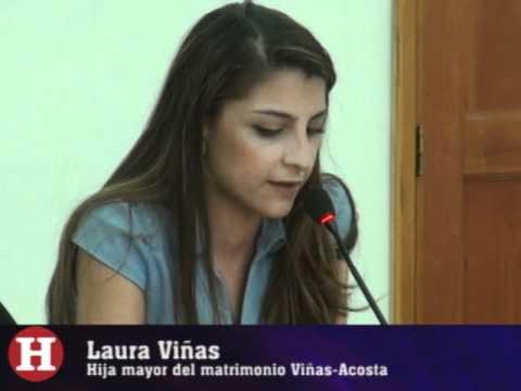 Laura Viñas rindió testimonio en el jucio contra su padre