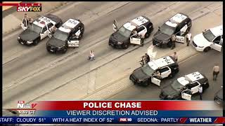 Download GRAPHIC ENDING To Police Chase in California Mp3 and Videos