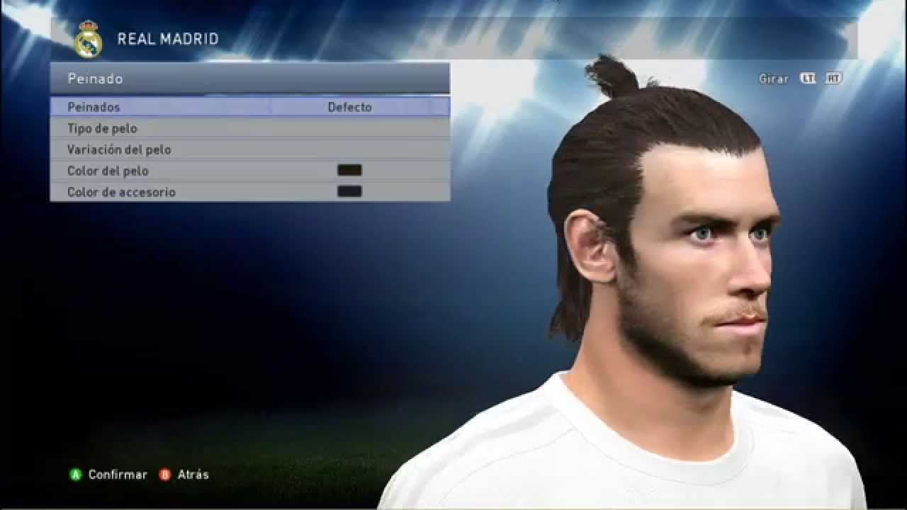 PES 2015 New Face Amp Hair Gareth Bale 201516 YouTube