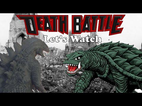 Let's Watch DEATH BATTLE: Godzilla Vs. Gamera
