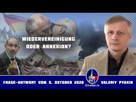 """30 Jahre der Deutschen """"Einheit"""" (2020.10.05 Valeriy Pyakin)"""