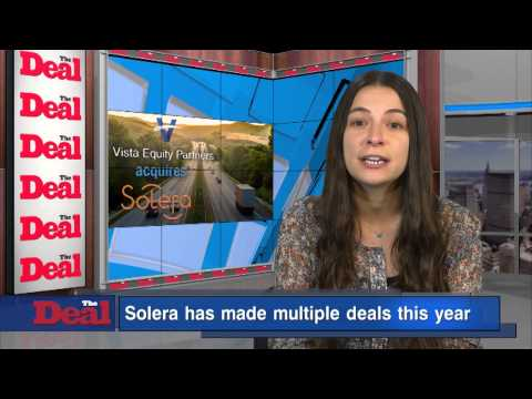 Vista Equity Partners and Several Other Investors Will Pay $55.85 Per Share for Solera