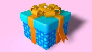 Gift Box -   Cinema 4d Tutorial