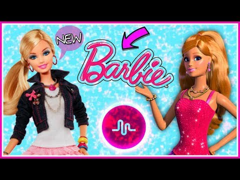 Amazing Barbie DOLLS Musical.ly Compilation   New Barbie Musically Challenge
