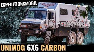 Mercedes-Benz Unimog 6x6 mit Carbon Kabine – Expeditionsmobil EXTREM!